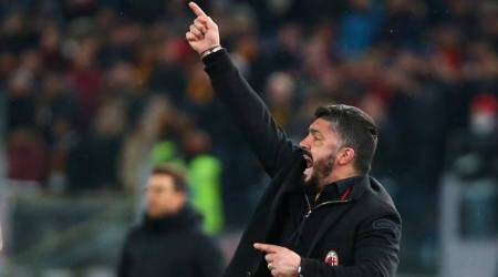 AC Milan's Gennaro Gattuso still angry, this time over snow