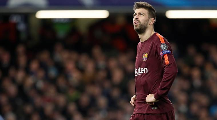 Gerard Pique, Gerard Pique Barcelona, Barcelona Gerard Pique, Gerard Pique news, Gerard Pique updates, La Liga, sports news, football, Indian Express