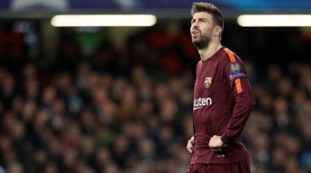 Gerard Pique welcomes Barcelona's one-off Super Cup duel withSevilla