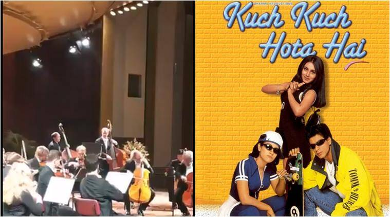 Video German Orchestra Plays Kuch Kuch Hota Hai At Berlin Film