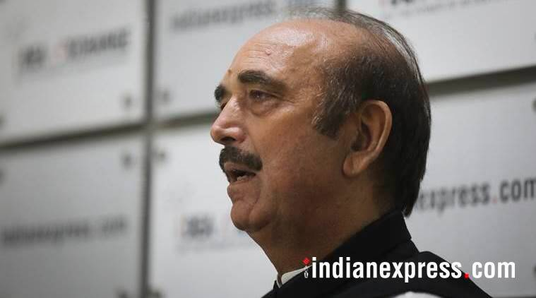 BJP, BJP Corruption, BJP Links With Scams, Ghulam Nabi Azad, Senior Congress leader Ghulam Nabi Azad, Congress, India News, Indian Express, Indian Express News