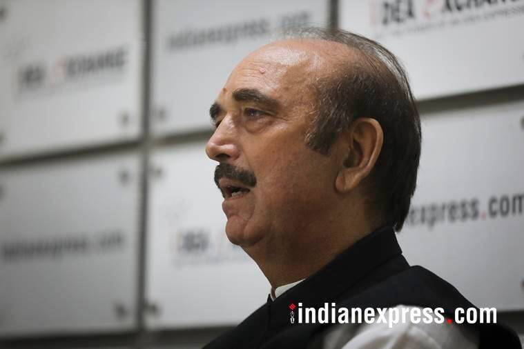 ghulam nabi azad, leader of opposition, rajya sabha, phone tapping, congress, bjp, j&k, modi, amit shah, indian express