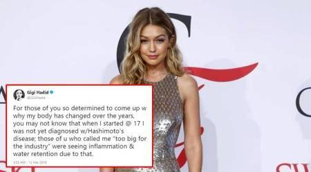 Gigi Hadid's Twitter thread lashing out against body shamers is a much-needed emotionalroller-coaster