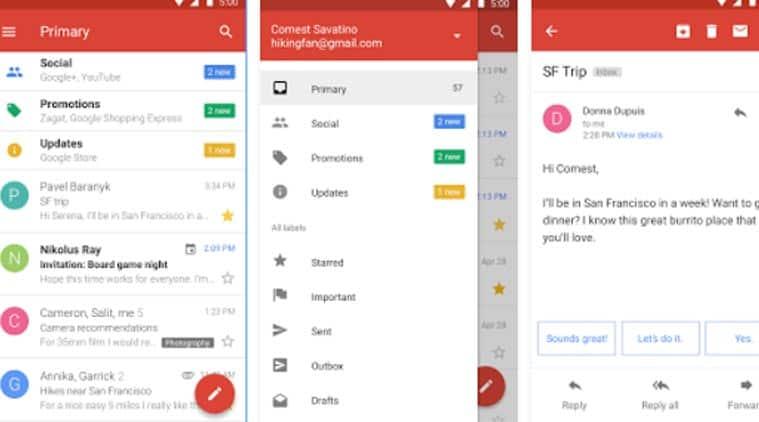Gmail приложение скачать