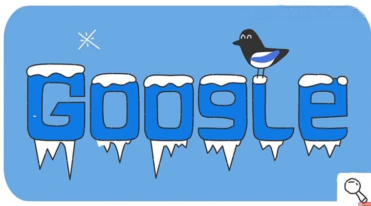6eb458b70916 Google Doodle celebrates Winter Olympics with its own  Snow Games ...