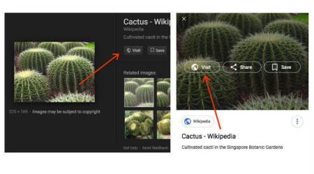 Google removes 'View Image' button from photos after copyright deal with Getty