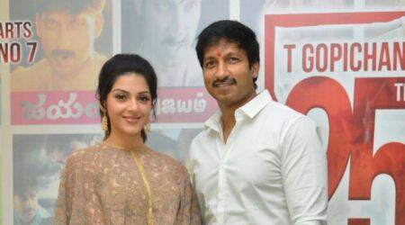 Gopichand's Pantham is a commercial film with good message, says producer