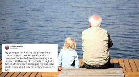 This little girl's texts to her grandad who passed away will leave you teary-eyed