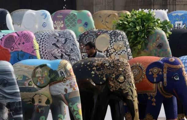 Snapshots from Elephant Parade India 2018 in Mumbai