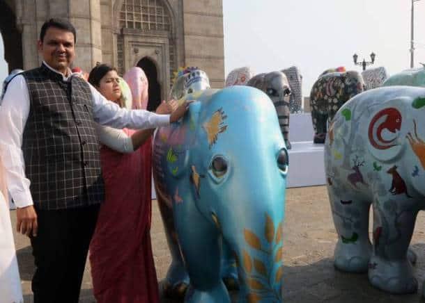 Snapshots from Elephant Parade India 2018 in Mumbai