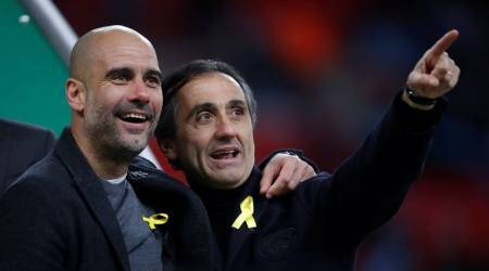 League Cup final: Why did Pep Guardiola wear yellow ribbon?