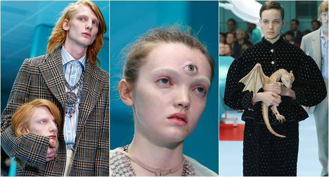 milan fashion week, milan fashion week 2018, gucci, gucci milan fashion week, Gucci Fall/Winter 2018-2019 collection, fashion news, lifestyle news, indian express, milan fashion week photos, gucci 2018 collection photos