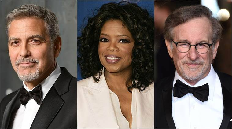 Oprah, Spielberg Also Donating To March For Our Lives Following Clooney's Pledge