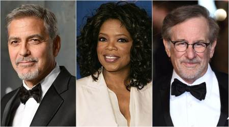 George Clooney, Oprah Winfrey and Steven Spielberg offer $500,000 each for gun control march