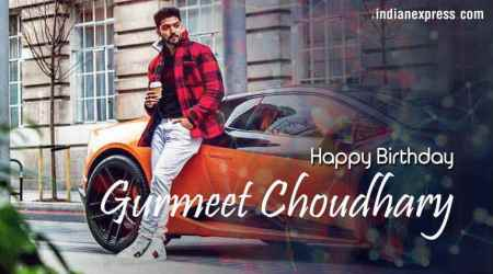Happy Birthday Gurmeet Choudhary: The journey from a small-town guy to a self-madestar