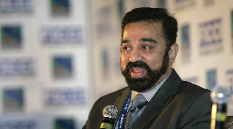 Kamal Haasan launches his political party, names it Makkal Needhi Maiam