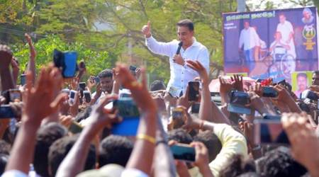 Kamal Haasan launches Tamil Nadu political party Makkal Needhi Maiam — here's all you need to know