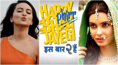 Sonakshi Sinha, Diana Penty starrer Happy Phirr Bhag Jayegi to release on August 24