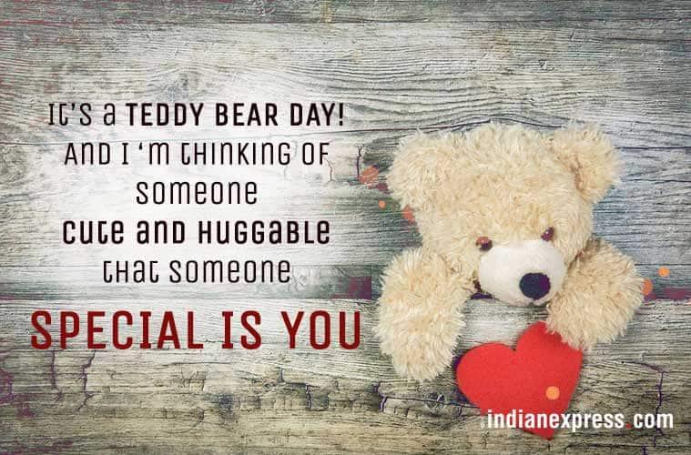 teddy day, happy teddy day, teddy bear day, valentines day, teddy day wishes, teddy day sms, teddy day photos, teddy day greetings, teddy day cards, indian express, lifestyle news