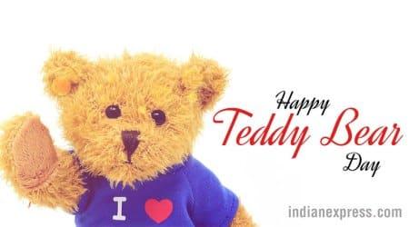 teddy day, happy teddy day, teddy bear day, valentines day, teddy day importance, teddy bear colour, teddy day sigificance, teddy day colour importance, teddy day photos, different teddy colour, teddy bear day, indian express, lifestyle news