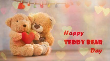 teddy day, happy teddy day, teddy bear day, valentines day, teddy day wishes, teddy day sms, teddy day photos, teddy day greetings, teddy day cards, indian express, lifestyle news