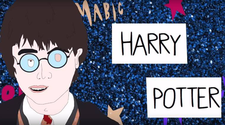 harry potter, harry potter predictive text, harry potter chapter, harry potter videos, harry potter youtube, harry potter bizarre chapter, indian express, indian express news