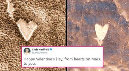 Valentine's Day on Mars: Share love with these photos of little hearts from the Red Planet