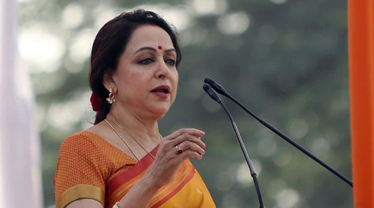 Hema Malini, Hema Malini in Tripura, Tripura Left rule, Tripura govt, Tripura news, Indian express news