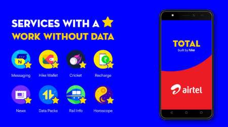 Hike partners with Airtel to bring 'Total' platform to budget 4Gmobiles