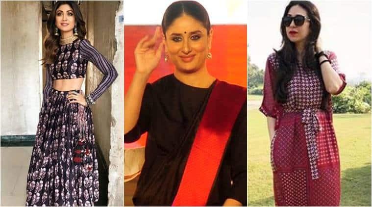 Holi 2018, Holi fashion, outfits to wear on Holi, Kareena Kapoor Khan, Kareena Kapoor Khan latest photos, Kareena Kapoor Khan fashion, Karisma Kapoor fashion, Tamannaah Bhatia fashion, Shilpa Shetty Kundra fashion, indian express, indian express news