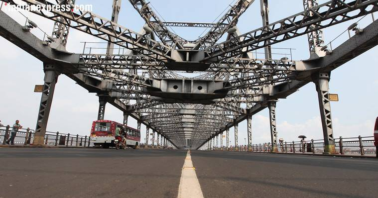 howrah bridge, howrah bridge 75 years, howrah bridge rare facts, howrah bridge kolkata, howrah bridge real name, howrah bridge unknown facts, kolkata news, indian express