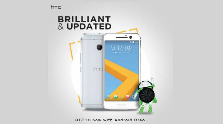 HTC 10 starts receiving Android 8 0 Oreo, Reliance Jio VoLTE