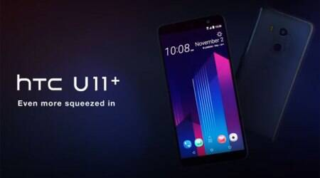 HTC U11+ with 6-inch 18:9 display, Snapdragon 835 SoC launched in India: Price, specifications