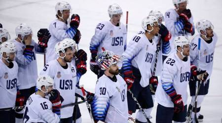 Winter Olympics: Czech Republic beat USA in ice hockey shootout to reach semis