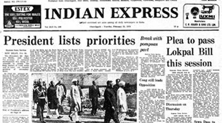 Express Front Page, Forty Years Ago, Indian Express, President Sanjiva Reddy, Sanjiva Reddy, Editorial News, Latest Editorial News, Indian Express, Indian Express News