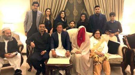 Bushra Maneka, Imran Khan, Imran Khan marriage, Imran Khan wife, Imran Khan third wife, Bushra bibi, Imran Khan third marriage, Who is Bushra Maneka, Indian express news