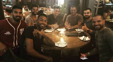 Virat Kohli and boys celebrate first T20I victory against South Africa with dinner, see pic
