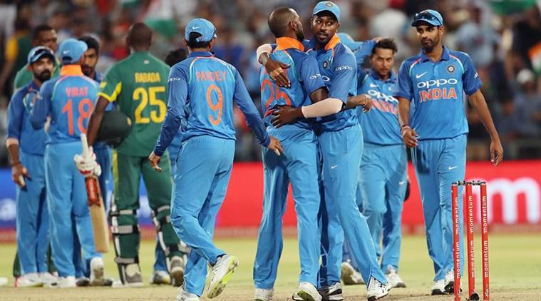 India are playing 6-match ODI series against South Africa by 3-1.