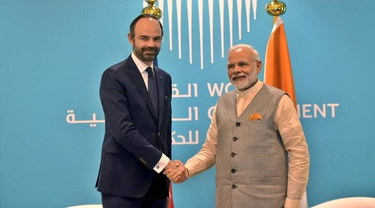 PM Narendra Modi, French PM, Edouard Philippe, India-France bilateral talks, India-France relations, india news, indian express news