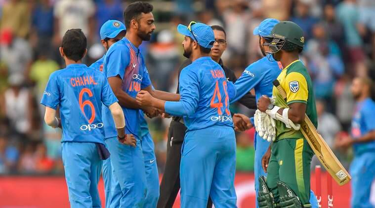 India Beat South Africa By  Runs In The First T In Johannesburg