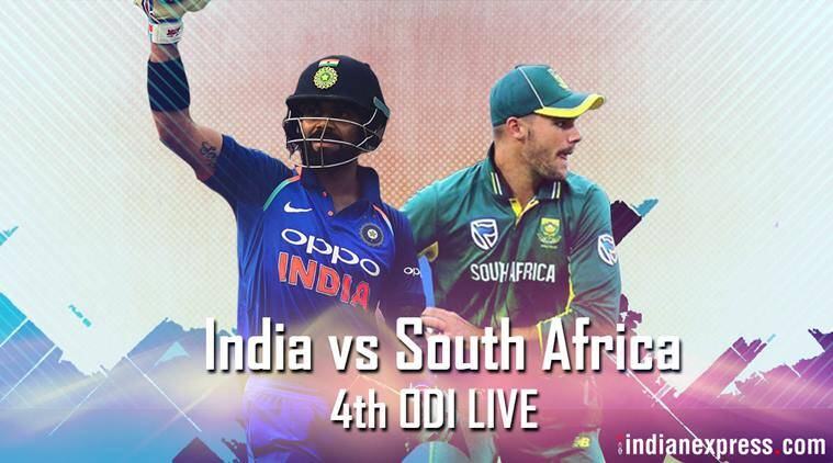 India vs South Africa 4th ODI Live score: India lose Rohit Sharma early after electing to bat first