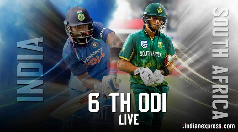 India vs South Africa Live Cricket Score, Live Streaming 6th ODI: South Africa to fight for pride at Centurion