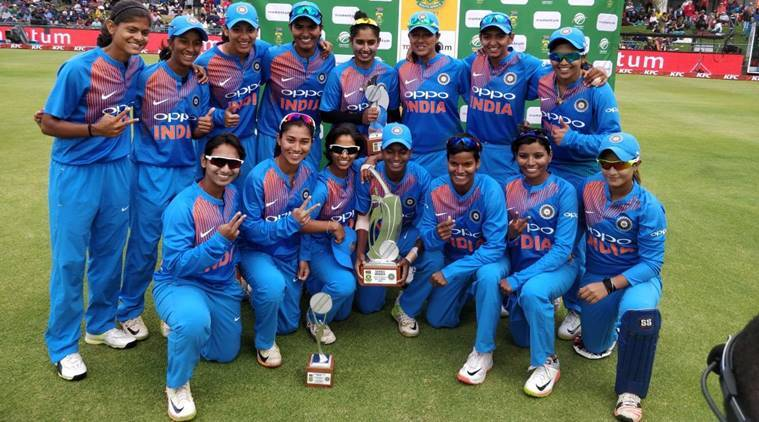 Indian Women Beat Hosts 3 1 To Win T20 Series In South