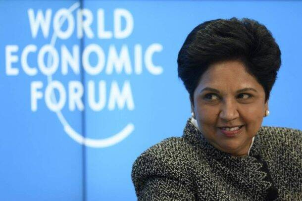 Indra Nooyi has risen to become one of the top female Indian American executives who isconsistently ranked among the world's 100 most powerful women.