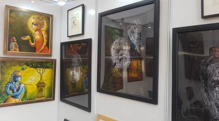 Art Fare: The first edition of International Kala Mela offers a platform for lesser known artists