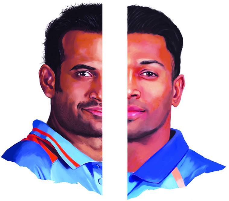 Irfan Pathan and Hardik pandya