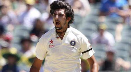 Ishant Sharma, Ishant Sharma bowling, Ishant Sharma India, India Ishant Sharma, Ishant Sharma County, sports news, cricket, Indian Express