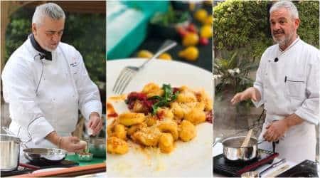 italian recipes, italian masterclass, italian cooking, chef Attilio di Fabrizio, chef Roberto Gatto, San Gimignano, The Imperial, indian express, indian express news