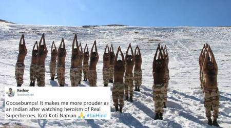 Yoga in the chilly Himalayas: These photos of Indo-Tibetan Border Police will leave you awe-struck