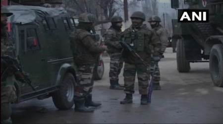 J-K: Encounter underway between security forces, militants in Baramulla; mobile servicessuspended